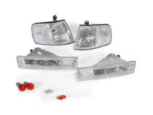 Combo Depo Jdm Clear Corner Bumper Signal Lights For 1990 1991 Honda Crx Cr X