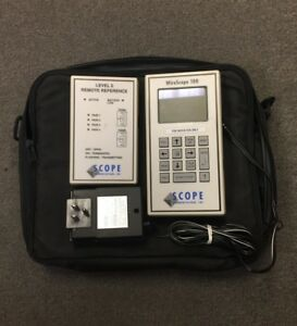 Scope Communications Wirescope 100 Cable Analyzer Remote 12100