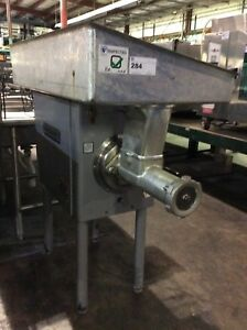 Hobart 4146 Stainless Steel Commercial Meat Grinder