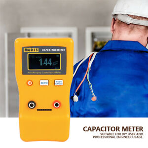 M6013 Lcd High Precision Capacitor Meter Measuring Capacitance Resistance Good
