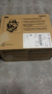 3m 7800s Size Large Full Face Respirator In A Sealed Box