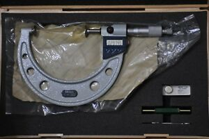 Mitutoyo Digital Disc Micrometer 3 4 Inch Model 323 714 30