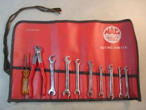 Mac Tools Ignition Wrench Set Offset 3 16 3 8 Pliers Screwdriver W bag