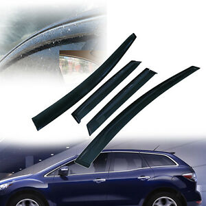 For Mazda Cx 7 4 door 2008 2011 Window Visor Sun Rain Vent Guard Wind Deflector