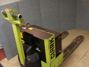 Clark Wp40 Electric Walkie Pallet Truck Jack Serviced 27 X 48 4000