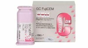 Dental gc fuji cem resin modified luting cement zirconia amp pfm with dispenser