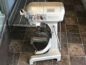 Hobart 20 Qt A200 Commercial Bakery Dough Mixer With Bowl Hook And Paddle