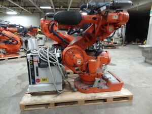 Abb Irb 7600 6 Axis Cnc Robot 500kg X 2 55 Reach With Irc5 Control New 2012