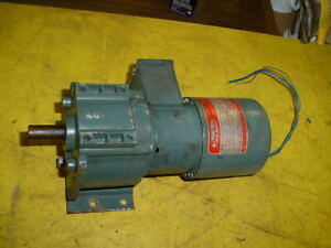 Dayton Split Phase Gear Motor 1 15 Hp Model 2z841a