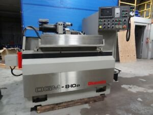 Used Okamoto Ogm 8 10p Plain Programmable Cylindrical Grinder