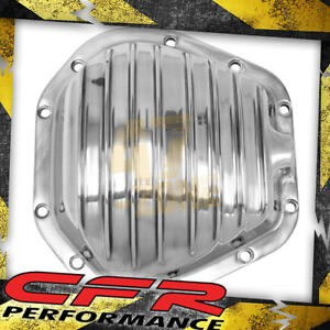 Dana 60 Polished Aluminum Front Rear Differential Cover 10 Bolt