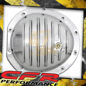 1978 91 Chevy Gmc Truck Polished Aluminum Front Differential Cover 10 Bolt