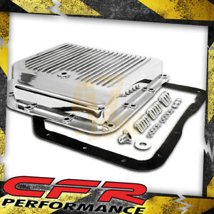 Chevy Gm Turbo Th 350 Aluminum Transmission Pan Kit Polished