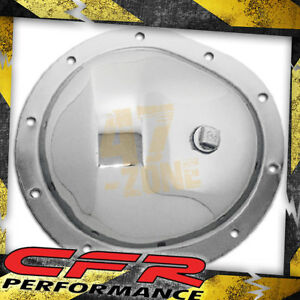 78 91 Chevy Gmc Truck Chrome Steel Front Differential Cover 10 Bolt W Ring Gear