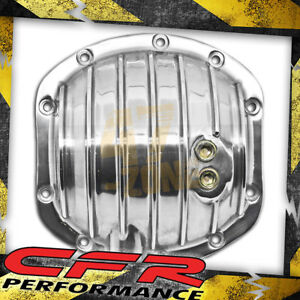 Aluminum Dana 25 27 30 Differential Cover 10 Bolts Polished