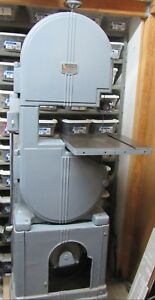 Early Walker Turner Band Saw In Very Good Condition The Tires Are New