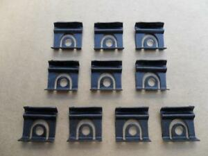 Old School Windshield Backglass Molding Clips 64 1 2 66 Ford Mustang 7110