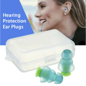 Soft Silicone Noise Cancelling Ear Plugs For Sleeping Concert Hearing Protection