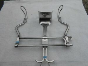 Grieshaber Stainless Steel Adjustable Surgical Abdominal Retractor With Blades