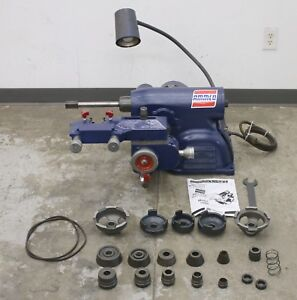 Ammco 7000 Hustler Rotor Disc Brake Lathe W Complete Adapter Kit