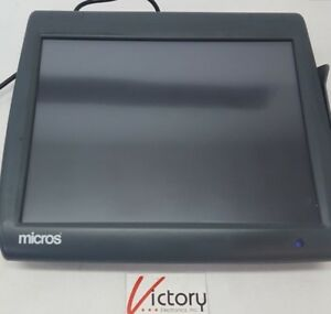 Used Micros Workstation 5 System Unit 400814 001 touch Screen w windows No Stand