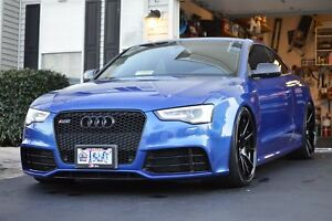 Adv1 10 S 20 Deep Concave Black And Tpi Lugs Rims Are From 2013 Audi Rs5
