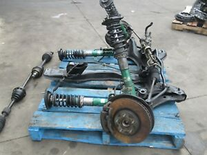 Jdm Toyota Caldina St215 Front Sub Frame Cradle Rhd Rack And Pinion Axles St215