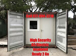 40 Ft Shipping Container Office Laboratory Tiny Home Classroom Control Station