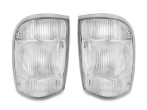 rare Depo All Clear Rear Tail Lights Set For 98 99 00 Ford Ranger Pickup Truck