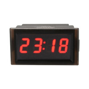 Red Waterproof Automotive Electronic Clock Car Led Digital Date Timer Ma1223
