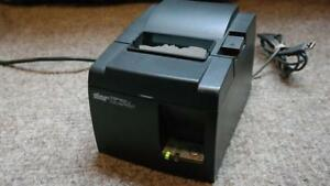Star Tsp100 Thermal Pos Receipt Printer Tsp W Power Cord Usb Cable
