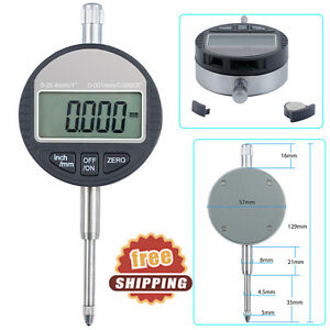 0 001mm 0 00005 Digital Dial Indicator 4digit Probe Test Gauge 0 25 4mm 1 Us