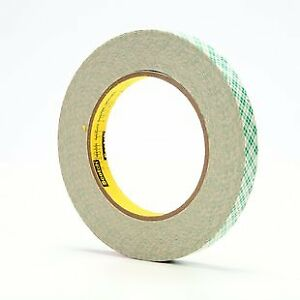 410m Double Coated Paper Tape 410m 1 2 In X 36 Yd 5 0 Mil pack Of 3