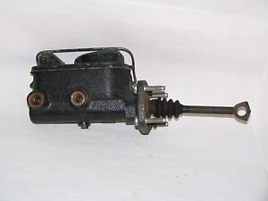 Nos Brake Master Cylinder 67 68 69 Plymouth Barracuda W Front Disc Brakes