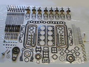 Most Complete Deluxe Engine Rebuild Kit 56 Desoto 330 Hemi V8 1956
