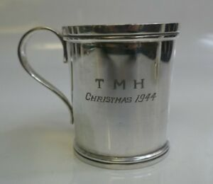 Antique Schofield Co Sterling Silver Mug Model Number 337