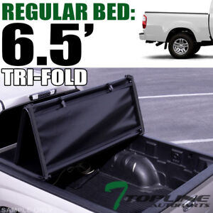 Topline For 2004 2006 Toyota Tundra 6 2 Ft Bed Tri Fold Soft Vinyl Tonneau Cover