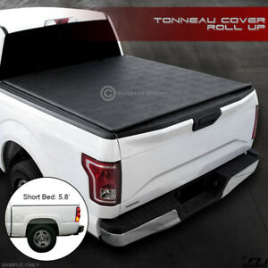 2004 2007 Silverado Sierra Crew 5 8 Short Bed Lo Roll Lock Soft Tonneau Cover