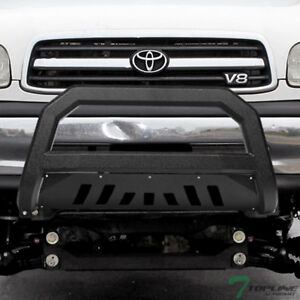 Topline For 1999 2006 Toyota Tundra sequoia Avt Bull Bar Guard Textured Black