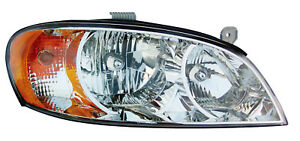 Fits 02 04 Kia Spectra Sedan Right Passenger Side Headlight