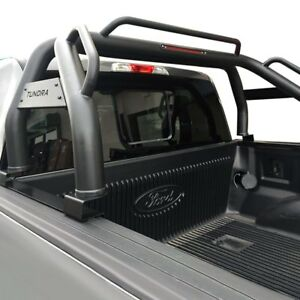For Toyota Tacoma 2005 2018 Vanguard Off road Classic Black Truck Bed Bar