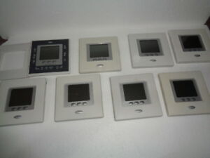 Carrier Thermostats 8 Lot Programmable 24 Volt Heat Cool 33cscpachp Multistage