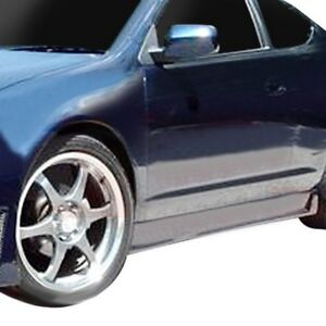 For Acura Rsx 2002 2006 Ait Racing Zen Style Fiberglass Side Skirts Unpainted