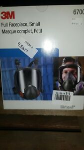 3m 6700 Full Face Respirator Size S Bayonet Connection 4pt
