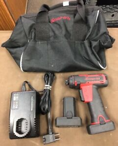 Snap on cts761a 14 4v Hex Micro Lithium Screwdriver Impact Driver Kit