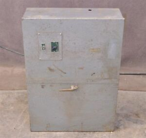 Automatic Switch Company Fs127 506 Automatic Transfer Switch 100 Amps