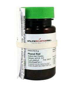 Phenol Red Powder 5g Chemical Reagent