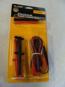 Brand New Fluke Tl23f Electrical Test Lead Setnew Unopened Package Free Shipping