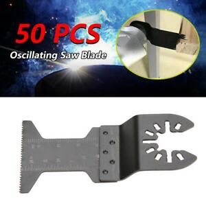 50pcs 45mm Quick Release Oscillating Multi functional Cutting Saw Blade Tool Kit