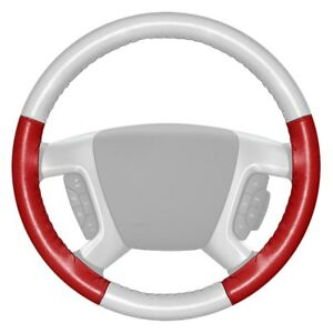 For Chevy Corvette 16 Steering Wheel Cover Eurotone Two color White Steering
